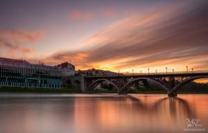 Barve sončnega zahoda (dolg čas), Lent, Maribor