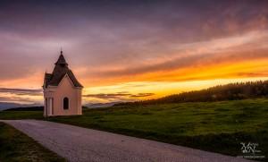 Sij barv sončnega zahoda, Pohorje
