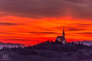 Rdeči oblaki, Malečnik