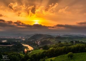 Sončni zahod, Malečnik, Maribor