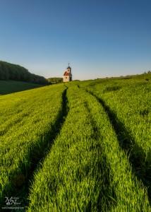 Kapelica na polju, Zgornje Partinje