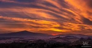 Nebo v barvah sončnega zahoda, Malečnik