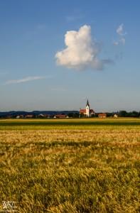 Cerkev z oblakom, Zg.Hajdina