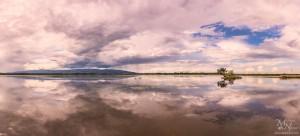 Sestrško jezero - panorama