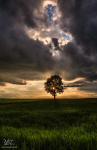 Po nevihti z zanimivimi oblaki