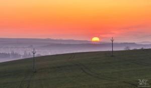 Prvo jutro s sončnim vzhodom