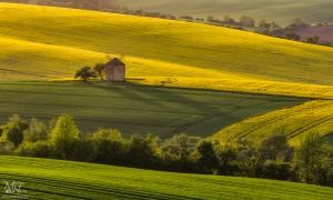 Mlin, pomladni večer - Kunkovice