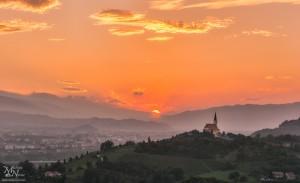 Sončni zahod, Malečnik