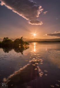 Večer ob Sestrškem jezeru