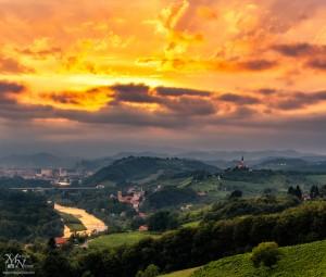 Sonce za temnimi oblaki, Malečnik