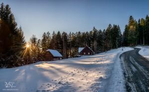 Zimska idila, Pohorje