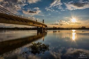 Večer prihaja, Puhov most, Ptuj