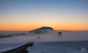 Jutro z meglo - Šmartno na Pohorju