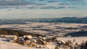 Zimski pogled na Dravsko polje