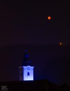Krvava luna z marsom, Jurovski Dol