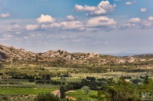 Okrog Les Baux de Provence