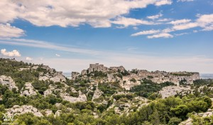 Pogled na Les Baux de Provence
