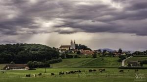 Sv.Trojica v Slov.goricah pred nevihto