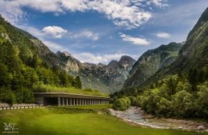 Galerija Berebica, dolina Trenta