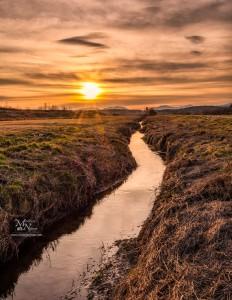 Pred sončnim zahodom, Stari Log