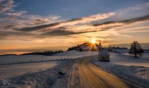 Jutranja sončna zvezda, Šmartno na Pohorju
