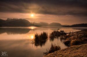 Jutranje sonce, Perniško jezero